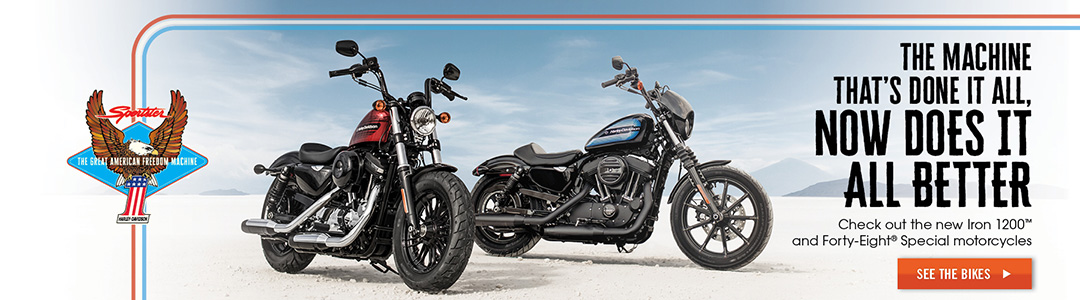 New 2018 Sportsters
