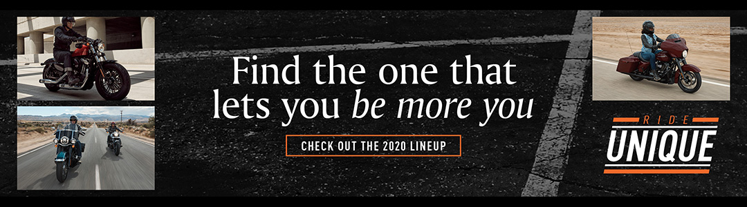 Find the one that lets you be more you. Check out the 2020 lineup.
